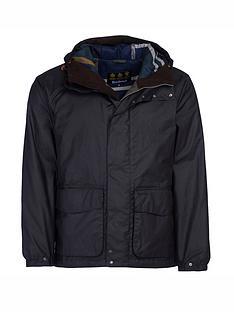 barbour-grendle-wax-jacket-black