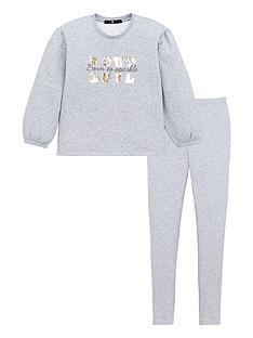 v-by-very-girls-volume-sleeve-sequin-love-sweat-top-and-legging-set-grey