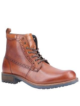 Cotswold Dauntsey Leather Boots - Tan