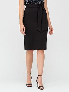 v-by-very-tie-waist-midi-skirt-black