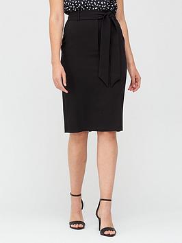 v-by-very-tie-waist-midi-skirt-black