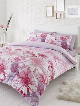Product photograph showing Catherine Lansfield Catherine Lansfield Daisy Dreams Duvet Set - Double