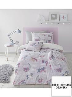 catherine-lansfield-unicorn-glow-in-the-dark-fleece-single-duvet-cover-set