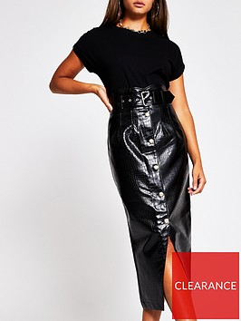 river-island-high-waist-pu-pencil-skirt-black