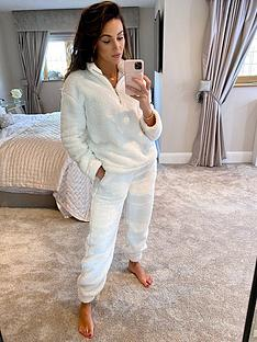 michelle-keegan-zip-through-teddy-jumper-white