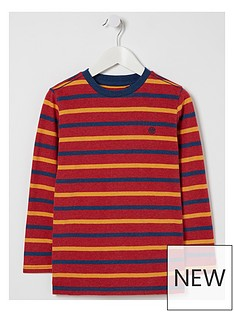 fatface-boys-long-sleeve-multi-stripe-t-shirt-red