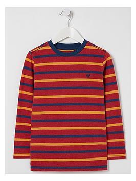 fatface-boys-long-sleeve-multi-stripe-t-shirt-red