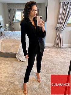 michelle-keegan-lace-trim-tailored-blazer-black
