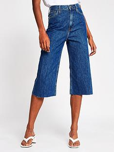 river-island-denim-culottes-blue