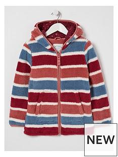 fatface-girls-stripe-zip-through-fleece-multi
