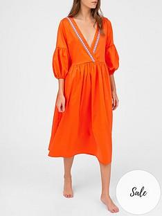 pitusa-scrunch-sleeve-maxi-dress