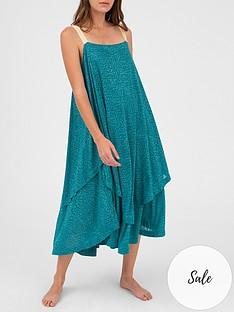 pitusa-layered-flared-dress-bluenbsp