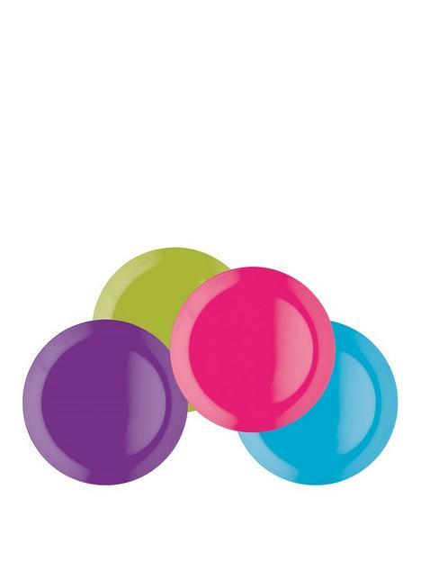 colourworks-brights-melamine-salad-plates-ndash-set-of-4