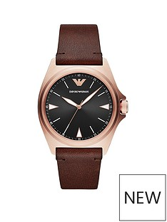 emporio-armani-emporio-armani-nicola-black-dial-brown-leather-strap-watch