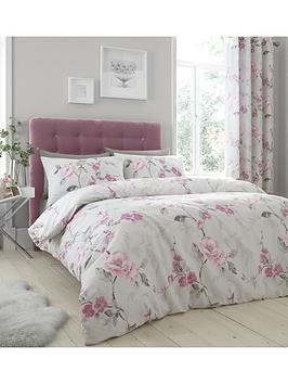 Catherine Lansfield Floral Trail Duvet Cover Set - Exclusive To Us!