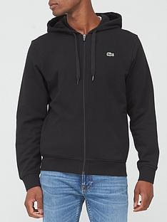 lacoste-classic-zip-through-hoodie-black