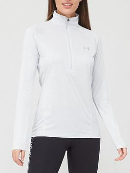 under-armour-twistnbsptech-12-zip-top-grey