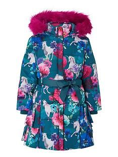 monsoon-girls-recycled-unicorn-ruffle-padded-coat-teal