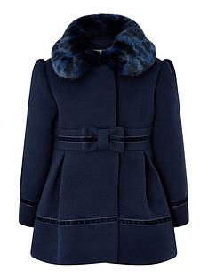 monsoon-baby-girls-bow-coat-navy