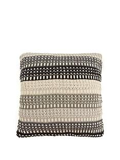 cascade-home-ombre-stripe-knitted-cushion
