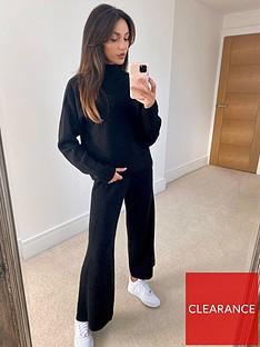michelle-keegan-wide-leg-rib-trouser-co-ord-black