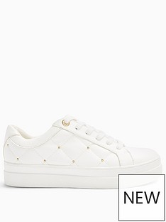 topshop-cooper-quilted-trainers-white
