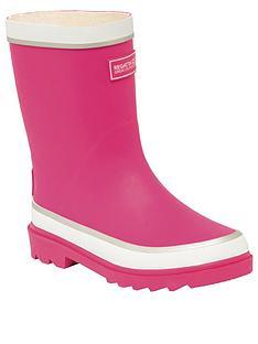 regatta-foxfire-junior-welly-pink