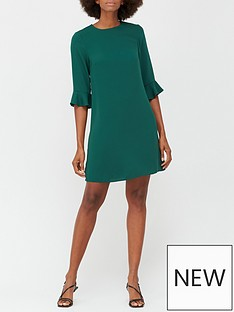 v-by-very-lana-tunic-dress-forest-green