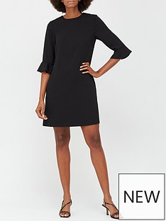 v-by-very-lana-tunic-dress-black