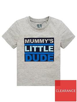 mini-v-by-very-boys-mummys-little-dudenbspgrey-marl-t-shirt-grey
