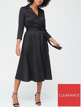 v-by-very-tailored-tie-waist-midi-dress-black