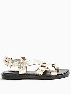 topshop-paige-sandals-ndash-gold