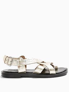 topshop-paige-sandals-ndash-gold