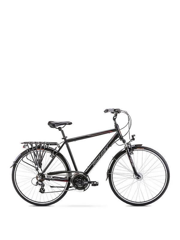 Romet Romet Track 1 Gents Trekking Bike 21 Inch 700c Black Very Co Uk