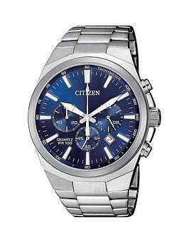 citizen-blue-chronograph-dial-stainless-steel-bracelet-mens-watch