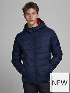 jack-jones-paddednbspjacket-navyrednbsp