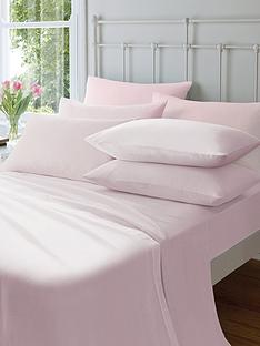 catherine-lansfield-soft-n-cosy-brushed-cotton-extra-deep-king-size-fitted-sheet-pink