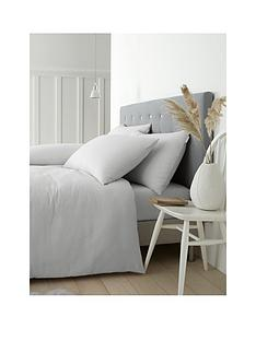 catherine-lansfield-soft-n-cosy-brushed-cotton-double-duvet-covernbspset-grey