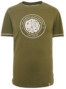 pretty-green-like-minded-logo-t-shirt-khaki