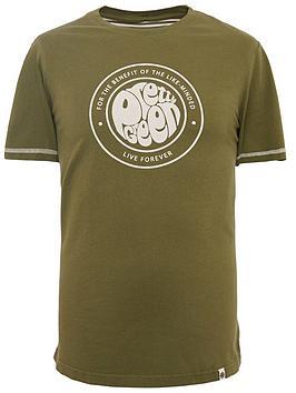 pretty-green-like-minded-logo-t-shirt-khaki