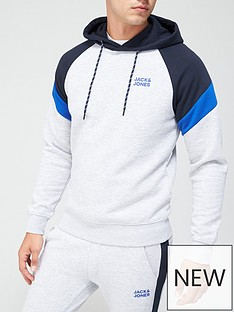 jack-jones-colour-block-logo-hoodie-greynbsp