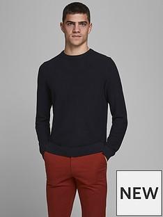 jack-jones-jack-jones-textured-knit-crew-neck-jumper