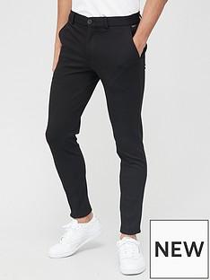jack-jones-skinny-fit-jersey-trousers-black