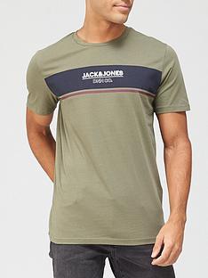 jack-jones-shaker-logo-t-shirt-green
