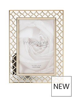 lattice-cut-metal-photo-frame-4x-6