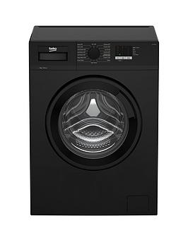 Beko Wtl74051B 7Kg Load, 1400 Spin Washing Machine - Black