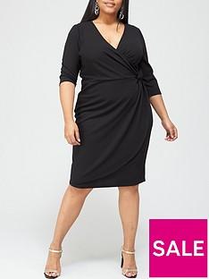 v-by-very-curve-jersey-crepe-wrap-bodycon-dress-black