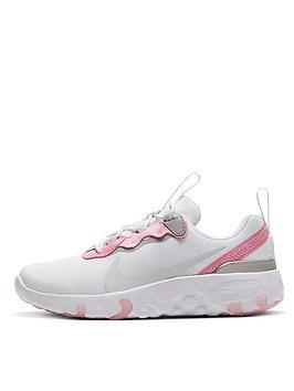 nike-renew-element-55-childrens-trainer-white-pink