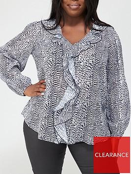 v-by-very-curve-lurex-stripe-ruffle-blouse-print