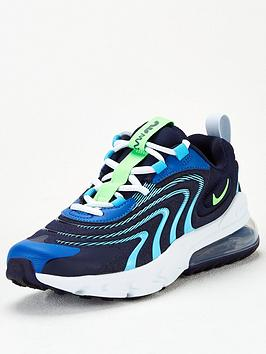 nike-air-max-270-react-eng-junior-trainer-black-blue